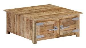 <b>Coffee Table 70x70x30 cm</b> Solid Mango Wood -