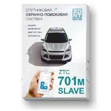 <b>Автомобильная GSM-сигнализация ZONT</b> ZTC-701M Slave