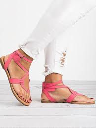 <b>2018</b> Summer Bandage Beach Flat <b>Sandals</b> For Women in 2019 ...