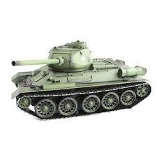 <b>Радиоуправляемый танк Heng</b> Long Russia T34-85 масштаб 1:16 ...