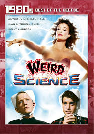 Image result for weird science movie poster