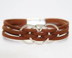 <b>Womens Leather Bracelet Womens</b> Bracelet <b>Womens</b> Gift for her ...