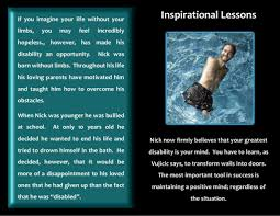nick vujicic essay nick vujicic essay poso ip why do i admire nick nick vujicic inspiration nick vujicic inspiration