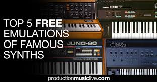 Top 5 Free Emulations Of Famous <b>Synths</b> - Minimoog, DX7, Juno ...