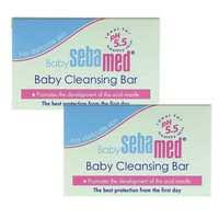 Buy <b>Sebamed Baby Cleansing Bar</b> 150g x Pack of 2 Online - Shop ...
