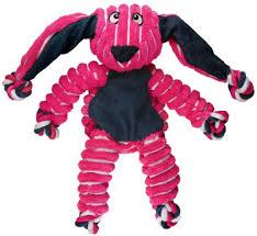 <b>Kong Игрушка</b> для собак <b>Floppy</b> Knots Кролик малый 23 х 14 см ...