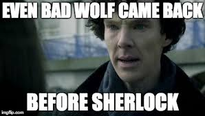 6 'Doctor Who' memes that make waiting for 'Sherlock' even worse via Relatably.com