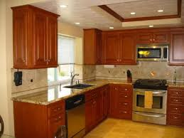 wall color ideas oak: image of top wall color for kitchen with oak cabinets