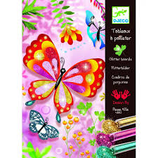 "<b>Раскраска</b> ""<b>Блестящие бабочки</b>"", <b>Djeco</b> 9503 - купить в интернет ..."