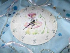 """Купить <b>Часы</b> """" Пышные розы и райские птички"""" - большие <b>часы</b> ..."""