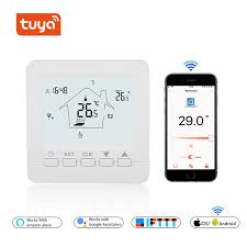 <b>WIFI Thermostat Smart Thermostat Gas</b> Boiler /Water/ Electric Floor ...