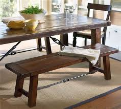 small dining bench: for rustic style rooms dining tables with bench and chairs