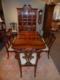 Chippendale Dining Room Table Amazing Chippendale Dining Room Set L23 Bjxiulancom