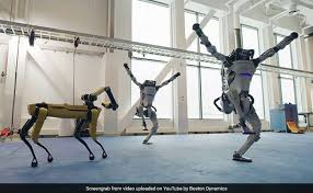 Viral Video: Boston Dynamics Got Its Robots Together For A <b>New</b> ...