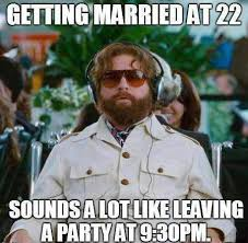 How I feel about my friends getting engaged at 18 or 19 ... via Relatably.com