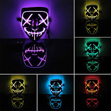 <b>Rave Mask</b> B Energy <b>Mask LED</b> Light Up <b>Mask</b> DJ Party Wrench ...