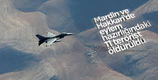 TSK'dan Mardin ve Hakkeri'de hava operasyonu