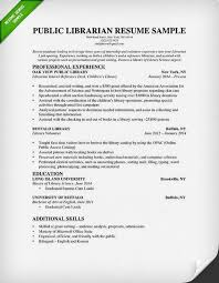 librarian resume sample  amp  writing guide   rgpublic librarian resume sample