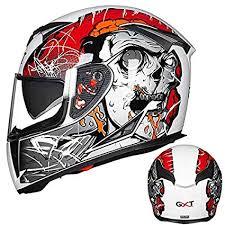 Leoie Men <b>Motorcycle</b> Helmet <b>Four Seasons</b> Double Lens Anti-Fog ...