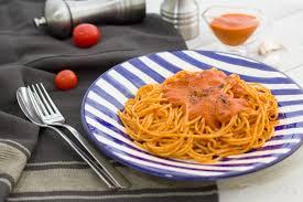 <b>Спагетти</b> с томатным <b>соусом</b> по-итальянски — Zira.uz