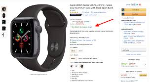 Amazon has a <b>secret Apple</b> Watch Series 5 Cyber Monday deal ...