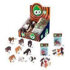 Дикие животные, наборы Домашних животных, 32шт., диспл.