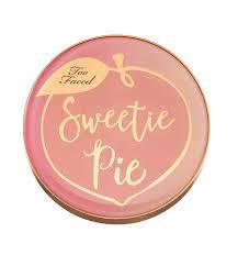<b>TOO FACED</b> Sweetie Pie Radiant Matte Bronzer ~ <b>Peaches</b>
