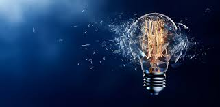 the value of failure creativity on the mba cjbs insight exploding light bulb on a blue background