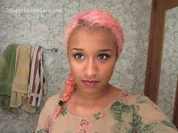 Amber Camille Johnson Pink Hair. I want this post to be as helpful as possible, since when I was researching how to do this, and trust me, I spent countless ... - how-to-dye-darkblack-hair-pastel-pink-L-8RxHXW