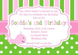 birthday party invitation template birthday party invitation custom birthday invitations walmart