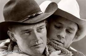 John Wayne & Heath Ledger. Bild 15 von 19 - emedia_digi_foto_fotobearbeitung_worth1000com_09_couples_15