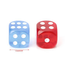 ULKEME <b>10pcs</b> Six Sided <b>15mm</b> Transparent Cube <b>Round</b> Corner ...
