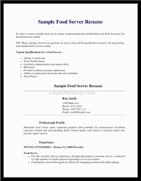 sample resume for restaurant server no experience best sample resume for restaurant server no experience best server resume example livecareer resume waitress waitress