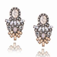 Wholesale good quality <b>big crystal</b> earring 2017 New statement ...