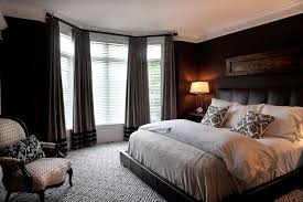 mens bedroom ideas for a contemporary bedroom with a custom window treatments and ny estate by bedroom male bedroom ideas