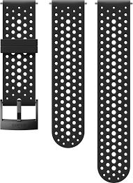 <b>Ремешок Suunto</b> 24 <b>Ath1</b> Silicone Strap Black/Black S+M, цвет ...