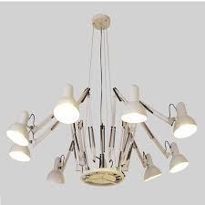 Dutti D0031 <b>Spider</b> LED chandelier post <b>modern Nordic</b> personality ...