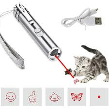 SEALEN Multi-Pattern <b>Funny Cat</b> Chaser Toy <b>Light</b> to Entertain Your ...