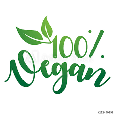 <b>100</b>% <b>Vegan</b> Vector Lettering. Handwritten <b>calligraphy</b> for restaurant ...