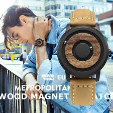 <b>EUTOUR</b> Magnetic <b>Wood</b> Watch Men 2019 Top Brand Luxury ...