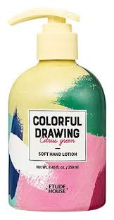 Купить <b>лосьон для рук</b> Etude House <b>Colorful</b> Drawing Soft Hand ...
