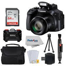 Canon <b>PowerShot</b> SX60 HS фотоаппарат + карта памяти 64 ГБ + ...