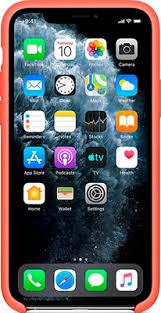 <b>Чехол</b> (<b>клип-кейс</b>) <b>Apple Silicone</b> Case для iPhone 11 Pro ...