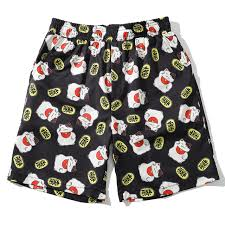 Летние пляжные повседневные <b>шорты</b> Harajuku с принтом <b>Lucky</b> ...