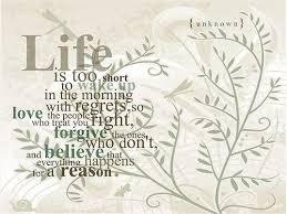 Quotes On Life And Regrets. QuotesGram via Relatably.com