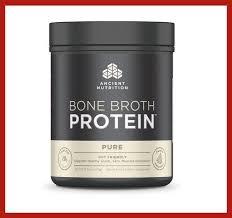 <b>Bone Broth Protein Pure</b> - 16.2oz (Powder) | Gut Friendly 100 ...
