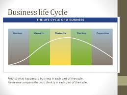 business life cycle predict what happens to business in each part of the cycle name business concepts business life office