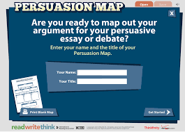 enhance students writing style this interactive visual here is how persuasion map works first students start identifying their thesis statement or goal then they move on to determine three main