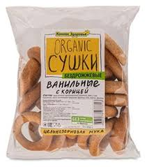 <b>Сушки Компас Здоровья</b> Organic ванильные с корицей ...