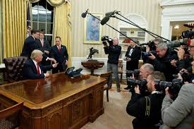 oval office white house. New White House Look Trump Gives The Oval Office A Makeover Political News US I